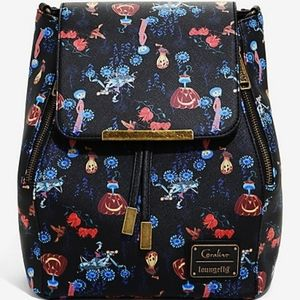 Loungefly Bags - Loungefly Coraline convertible mini backpack